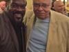 With James Earl Jones